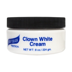 Clown White Cream 8oz