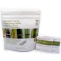 Bamboo Facial Cleansing Cloths 20ct