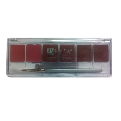 Lip Colour Palette Natural 6-Color
